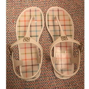 Like new COACH LaLa Jelly Sandals Size 6!